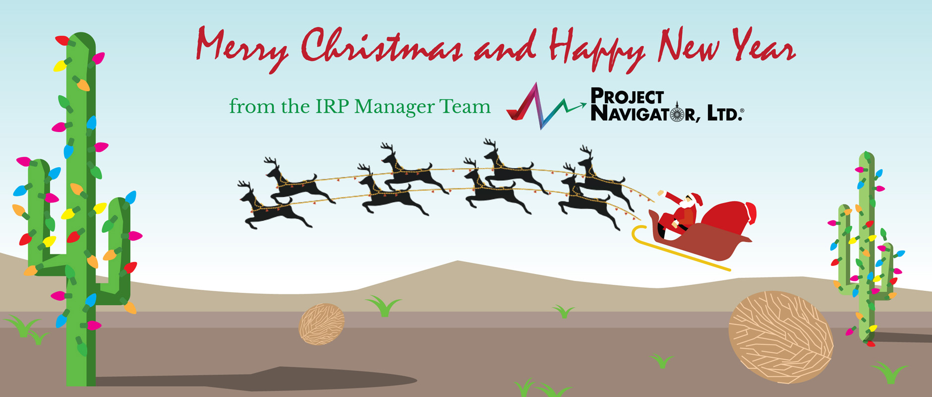 Happy Holidays from the IRP Manager
