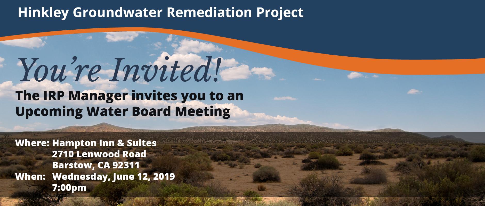 June Community Meeting