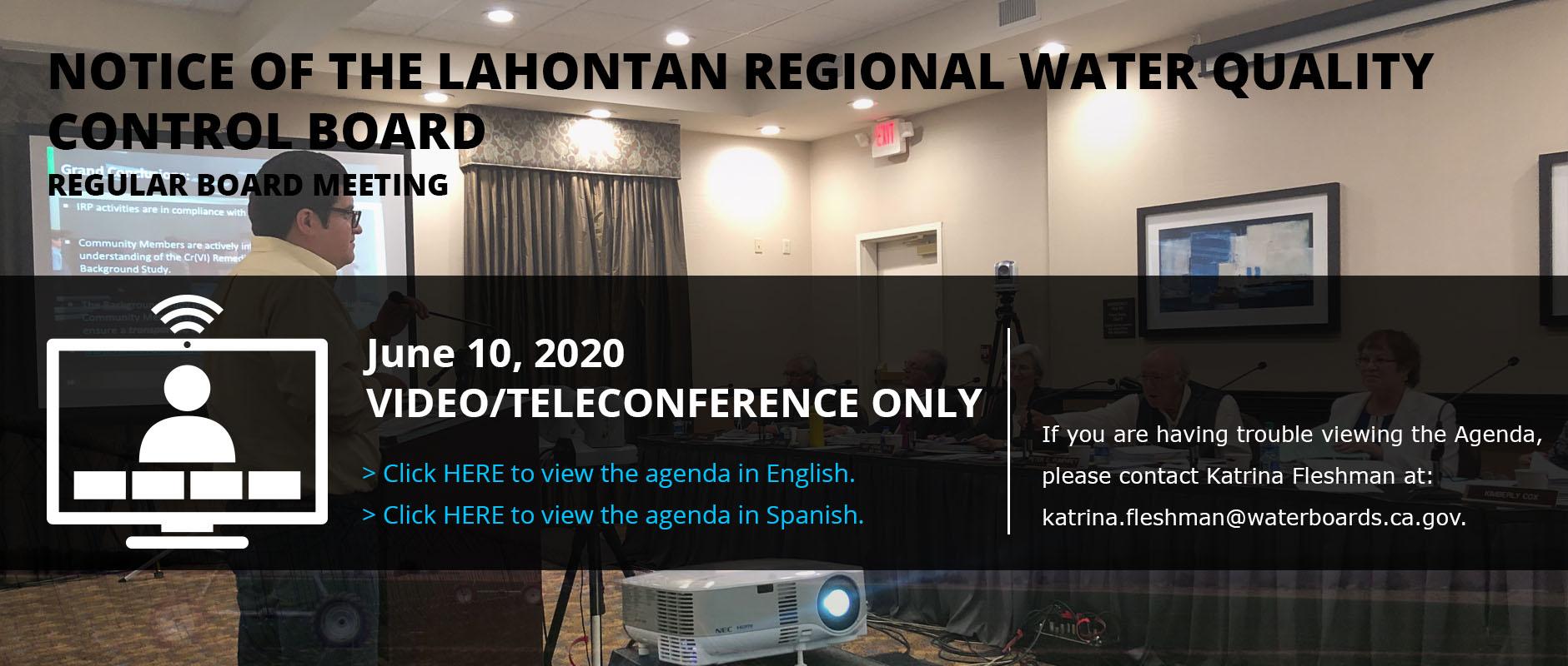May 2020 Meeting Update