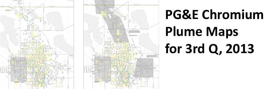 PG&E Chromium Plume Maps for 3rd Q, 2013