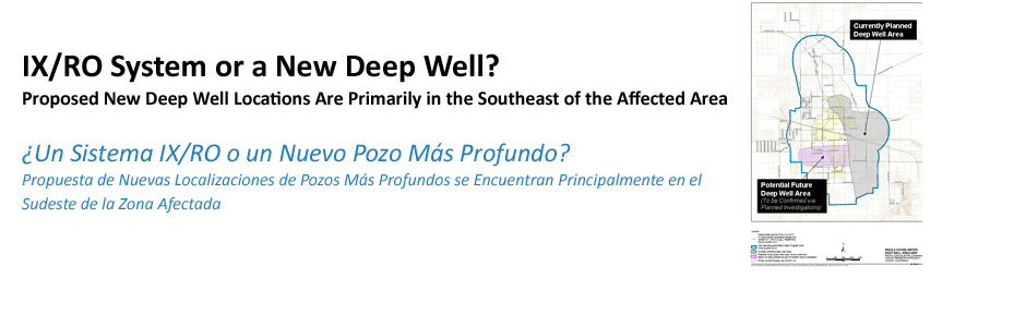 The New Deep Well Alternative, Where Possible, Will Draw Water from the Lower Aquifer