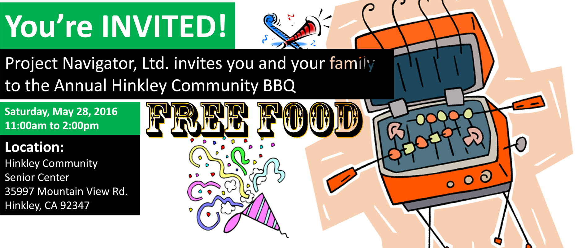 Annual Hinkley Community BBQ